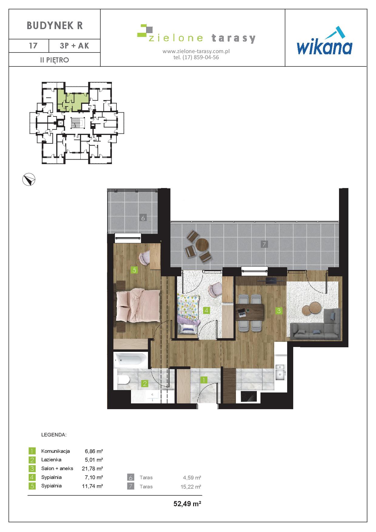 sprzedaż mieszkań rzeszów - R-17