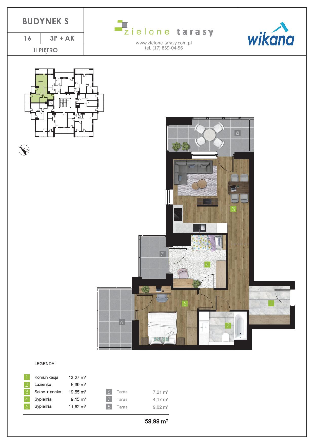 sprzedaż mieszkań rzeszów - S-16