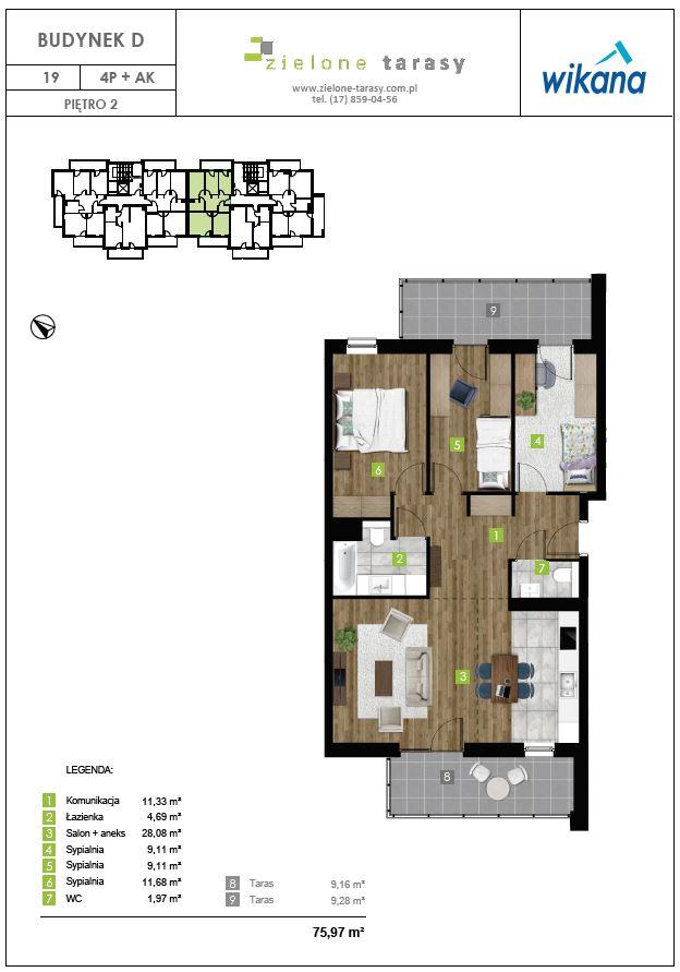 sprzedaż mieszkań rzeszów - D-19